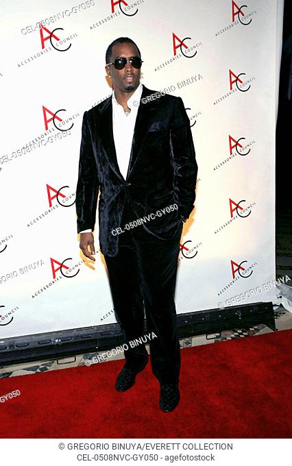Sean Combs at arrivals for 10th Annual Accessories Council ACE Awards, Cipriani Restaurant 42nd Street, New York, NY, November 08, 2005