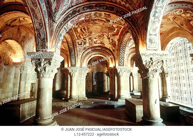 Royal Pantheon, Romanesque collegiate church of San Isidoro. León. Castilla-León, Spain