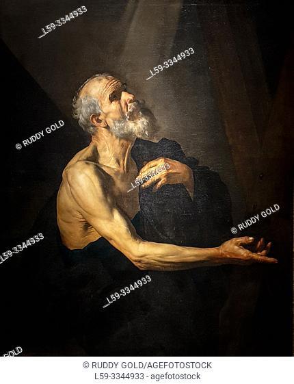 'Saint Andrew', 1615/20, Jusepe de Ribera (1591-1652)