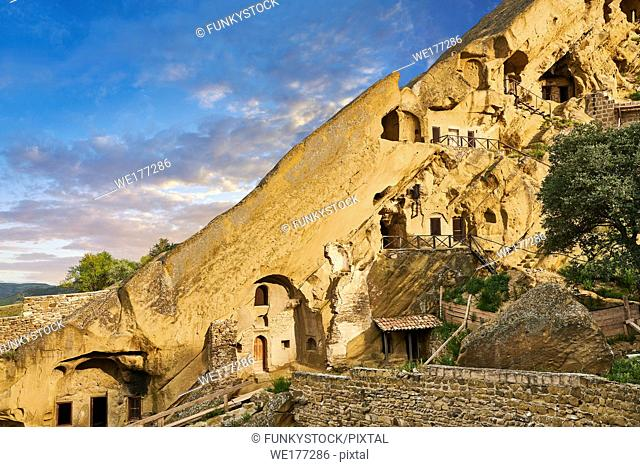 Picture & image of the rock caves of David Gareja Georgian Orthodox monastery, Mount Gareja, Kakheti Region, Georgia (country)