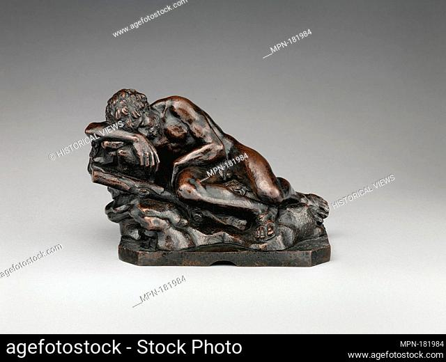 Resting Hercules. Date: last quarter 15th century; Culture: Italian, Florence; Medium: Bronze; Dimensions: Height: 5 3/8 in. (13