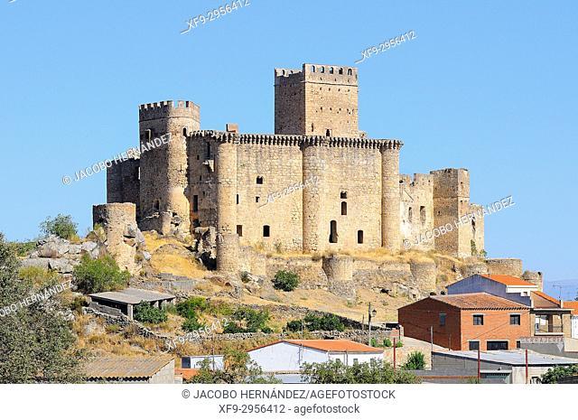 Castle of Belvís de Monroy. Cáceres province. Extremadura. Spain