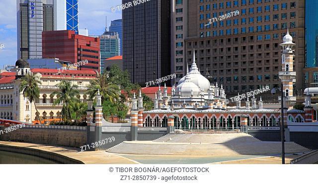 Malaysia, Kuala Lumpur, Masjid Jamek, mosque,