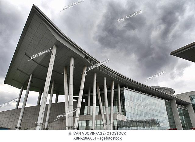Inner Mongolia museum (2007), Hohhot, Inner Mongolia, China
