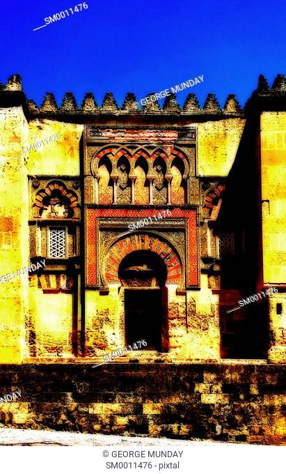 Street gateway to the 10th Century Mezquita Mosque,