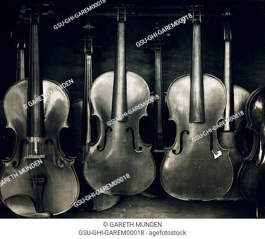unfinished, violins, instrument