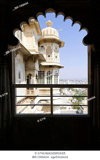 City Palace, Udaipur, Rajasthan, India, South Asia