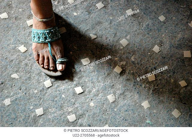 Pompei, Italy: floor of an ancient house