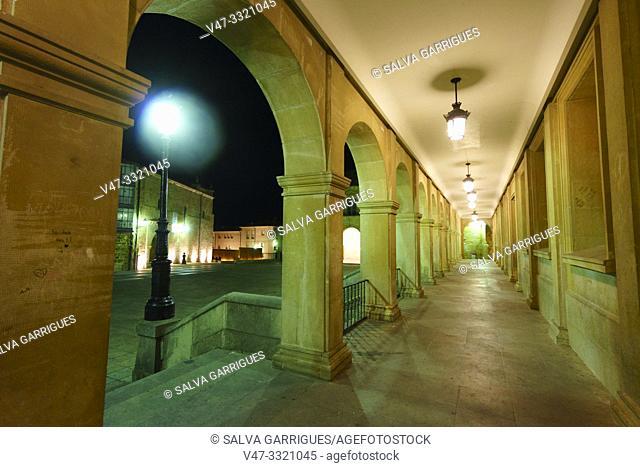 Soportals of the Plaza Mayor de Soria, Castilla y Leon, Spain