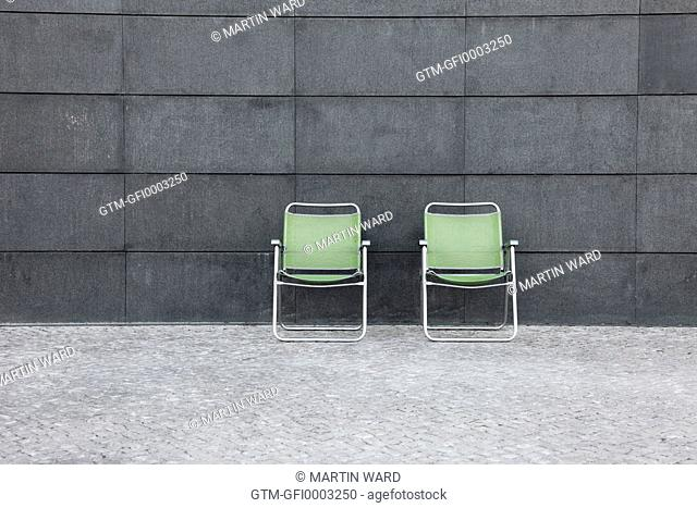 2 Green Chairs