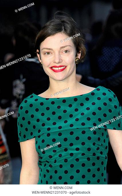 U.K. premiere of 'Noah' held at the Odeon Leicester Square - Arrivals Featuring: Camilla Rutherford Where: London, United Kingdom When: 31 Mar 2014 Credit: WENN