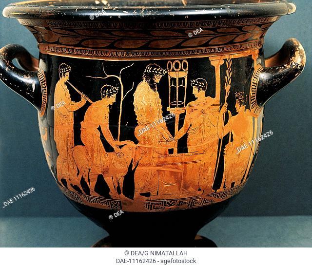 Attic Vase Sacrifice Stock Photos And Images Age Fotostock