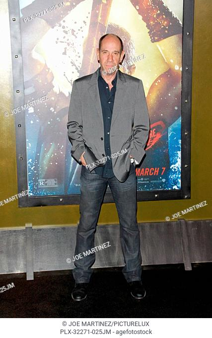 Miguel Ferrer at the Warner Bros. Pictures premiere of 300: Rise Of An Empire. Arrivals held at TCL Chinese Theatre in Hollywood, CA, March 4, 2014