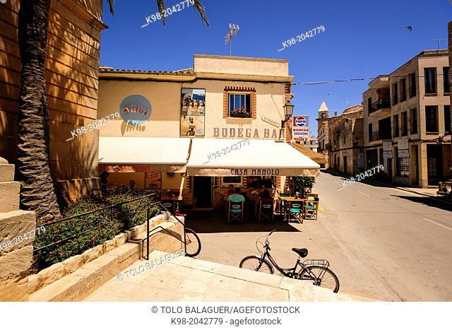 Can Barahona Bodega, - Can Manolo, Ses Salines, region Migjorn, Mallorca, Balearic Islands, Spain