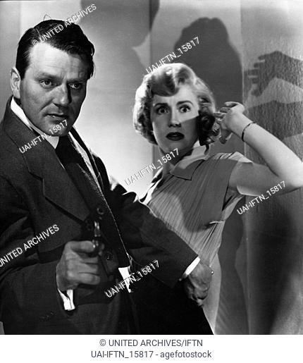 The Narrow Margin, aka: Um Haaresbreite, USA 1952, Regie: Richard Fleischer, Darsteller: Charles McGraw, Jacqueline White