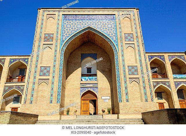 Kukeldash Madrasah, also known as Kukaldosh Madrasah, Tashkent, Uzbekistan