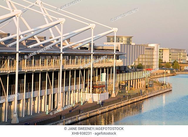 ExCeL Exhibition Centre, Royal Victoria Docks, London, England, UK