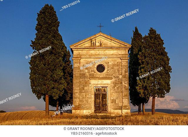 Classic Tuscan Landscape, near Pienza, Tuscany, Italy