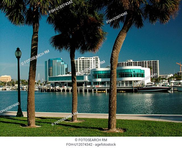 Sarasota, FL, Florida, Sarasota Bay, Island Park, marina