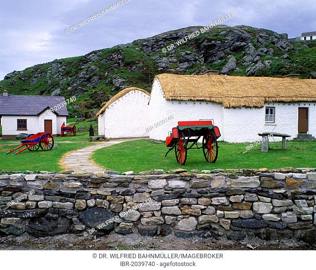 Museum of Folk Culture, Glencolumbkille, County Donegal, Republic of Ireland, Europ
