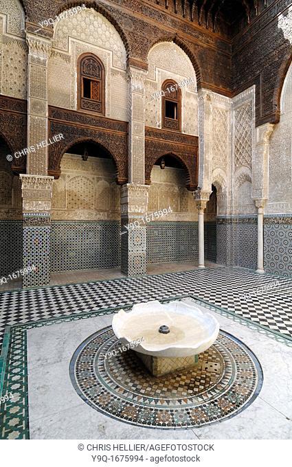 Attarine Medersa 1323-25 Medina Fez Morcco