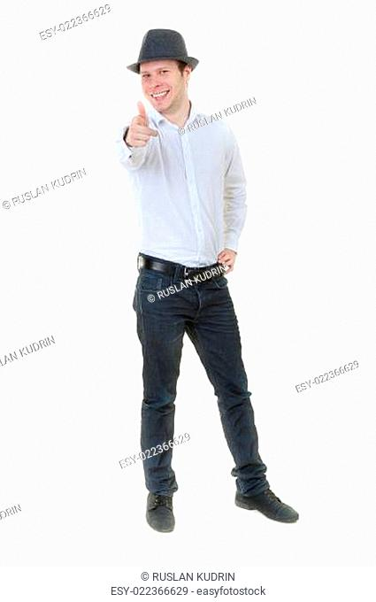 Casual Male is impressive on a white background