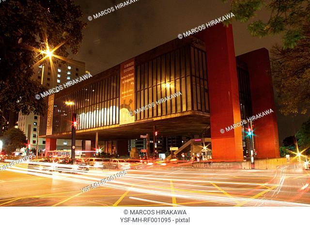 City Urbana, special effect, Avenida Paulista, Capital, São Paulo, Brazil