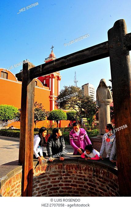 Saint Rose of Lima (Santa Rosa de Lima), Peru, 2015. Creator: Luis Rosendo