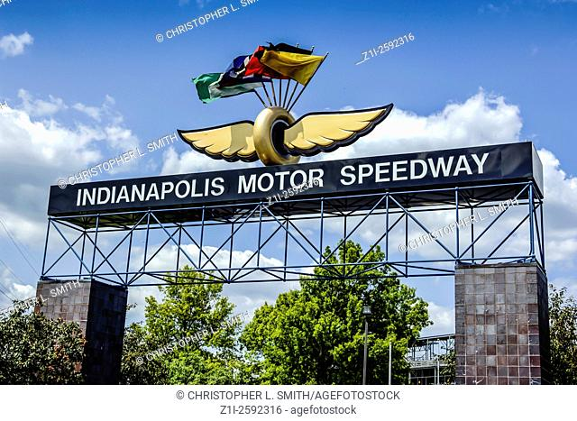 The Indianapolis Motor Speedway, located in Speedway, Indiana in the United States, is the home of the Indianapolis 500 and the Brickyard 400