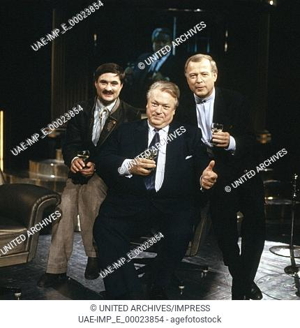Der deutsche Film- und Fernsehschauspieler Günter Strack, Deutschland 1990er Jahre. German movie and TV actor Guenter Strack, Germany 1990s