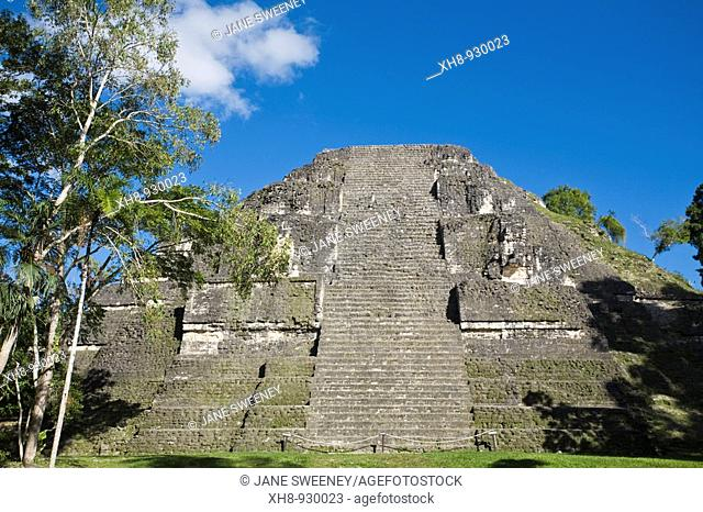 Lost World Pyramid, Tikal, El Peten department, Guatemala