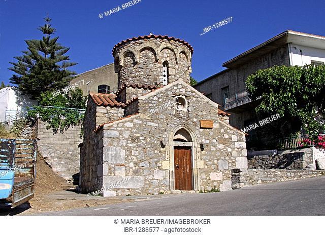 Agia Irini Church, Axos, Crete, Greece, Europe