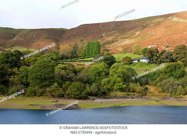 An autumn view at Elan Valley, Powys, Wales, UK