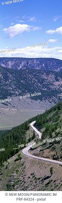 Road Beartooth Highway MT