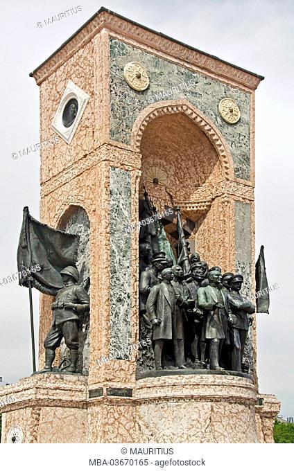 Turkey, Istanbul, independence monument