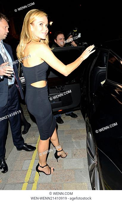 Celebrities visit Chiltern Firehouse Featuring: Amanda Holden Where: London, United Kingdom When: 30 May 2014 Credit: WENN.com