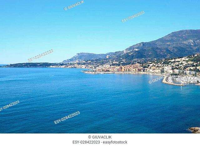 cote d'Azur with Menton and Monte Carlo
