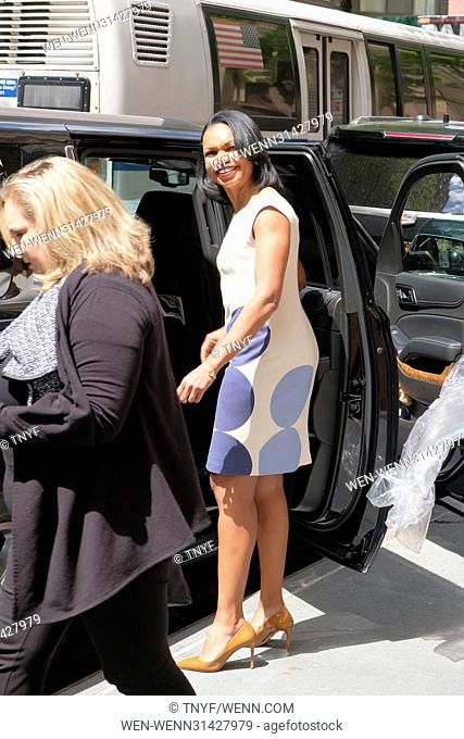 Condoleezza Rice leaves ABC studios after visiting 'The View' Featuring: Condoleezza Rice Where: Manhattan, New York, United States When: 09 May 2017 Credit:...