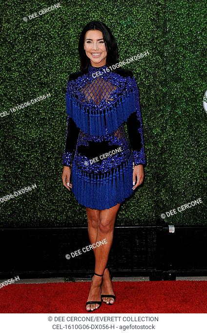 7b0cfe49 Jacqueline MacInnes Wood (wearing a Balmain dress) at arrivals for CBS CW  Showtime Annual