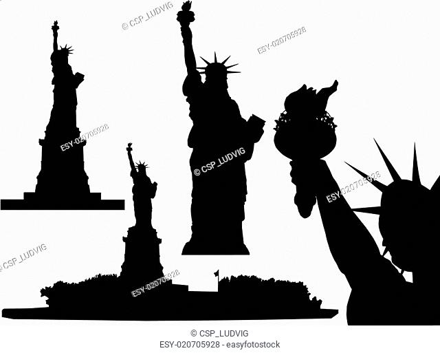Statue of Liberty - vector