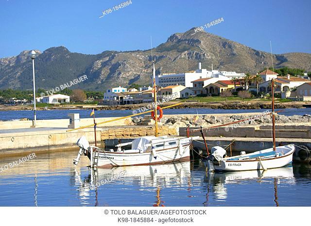 Es Barcarès, Alcudia, Bahia de Pollença, Nort, Spain Baleares Mallorca