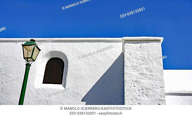 Canarian architecture in Femes, Lanzarote, Canary Islands, Spain