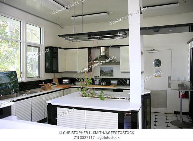 The model kitchen of the future designed and used in the early 1990s during a 2-year life-science isolation project at Bisosphere 2