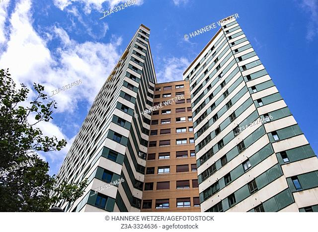 Modern architecture in Valecia, Spain