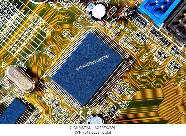 Micro chip and mother board