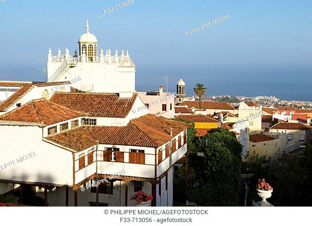 Spain. Canary islands. Tenerife. La Orotava