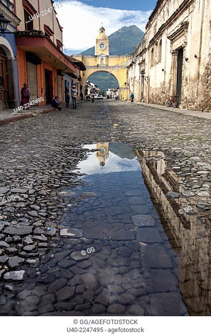 Santa Catalina arch, Antigua Guatemala, Guatemala