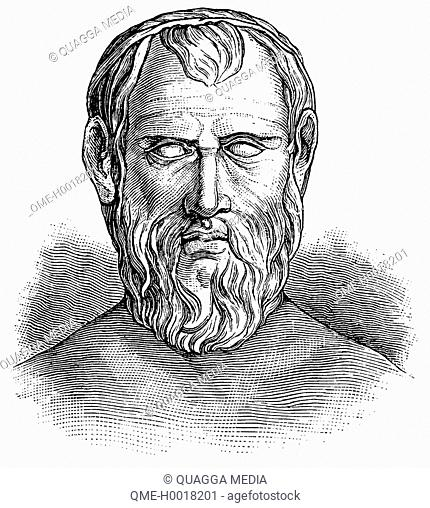 Aristophanes (c. 446 – c. 386 BC), comic playwright of ancient Athens