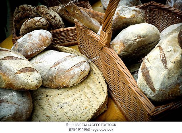 Artisan bread, London, England, UK