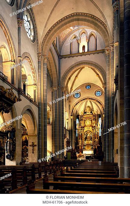 Essen-Werden, Stiftskirche St. Ludgerus